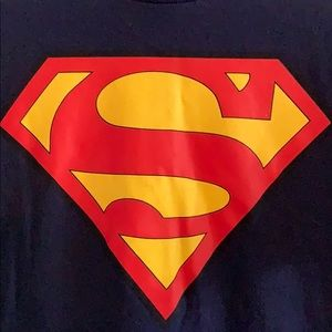 Superman tshirt with cape